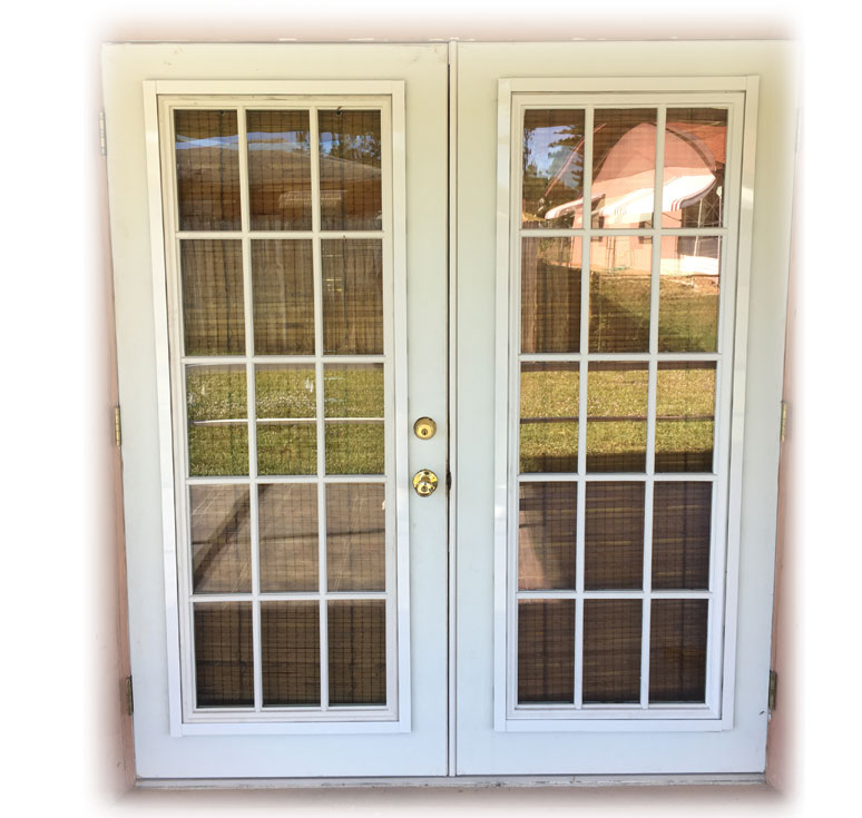 Storm Stoppers Doors with C.A.P.S.